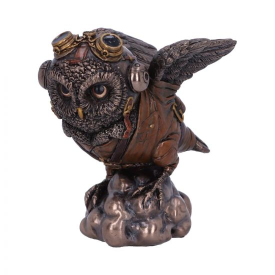 Learning to Fly 10.5cm Owls Steampunk