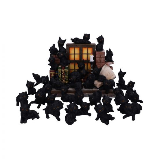The Witches Litter 24.8cm (Display of 36) Cats New in Stock Value Range