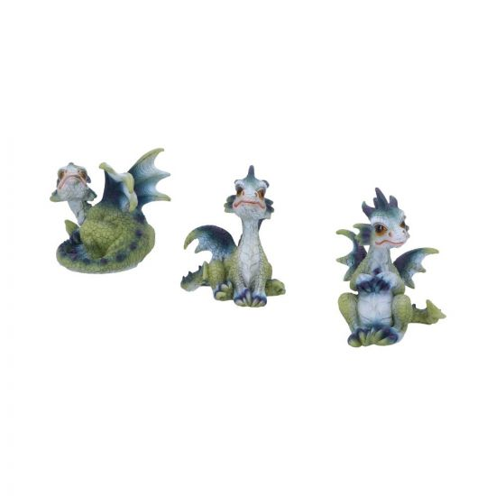 Triple Trouble 8cm (Set of 3) Dragons New in Stock Value Range