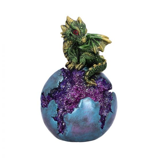 Geode Guard Green 12.7cm Dragons New in Stock Value Range
