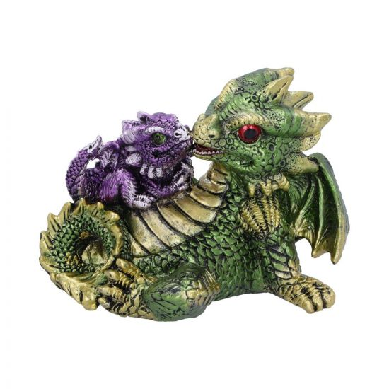 Dragonling Rest (Green) 11.3cm Dragons New in Stock