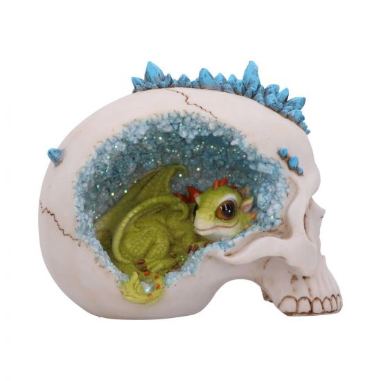 Crystal Cave Blue 16.5cm Skulls New Product Launch