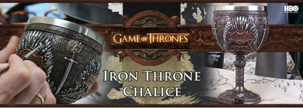 Bend the Knee: Iron Throne Chalice Production
