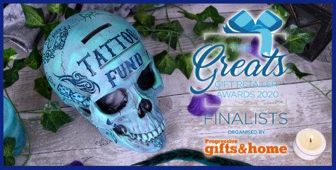 We're Finalists! The Greats Gift Retailer Awards 2020