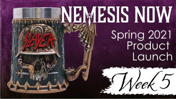 Week 5 Product Launch: The Thrash Metal Gods are here!
