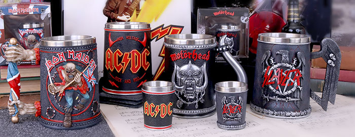 Rock Band Branded products by Nemesis Now