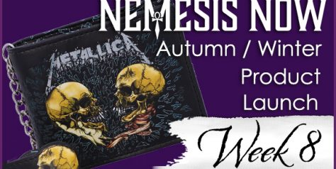 Take a walk on the dark side with Nemesis Now's new and exclusive gothic giftware.